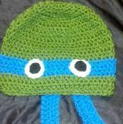 TMNT Turtle Beanie - via @Craftsy