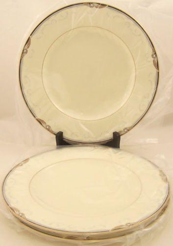 Set-of-3-Noritake-China-Sunswept-Dinner-Plates