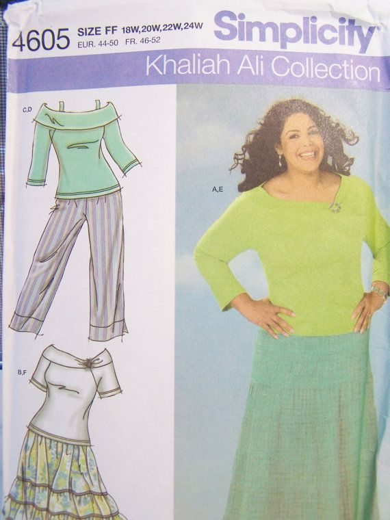 Simplicity 4605 Women\'s Sewing Pattern Ruffled by WitsEndDesign ...