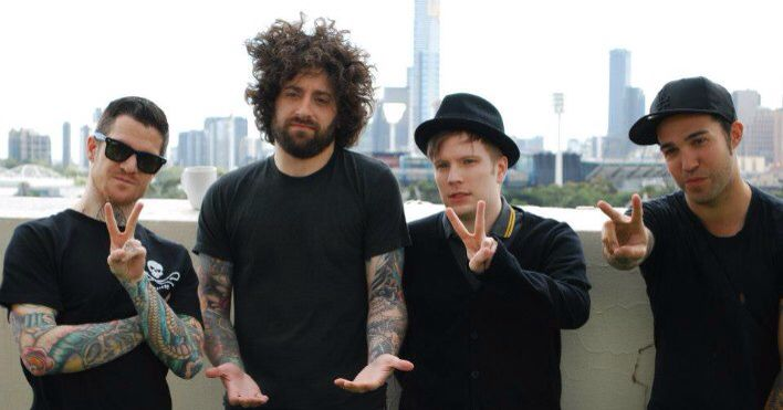 Fall Out Boy looking adorable