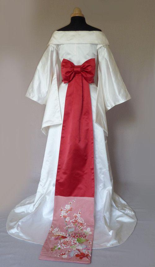 Robe de mariee inspiration japonaise