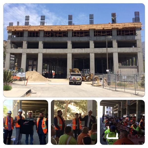 We're Celebrating a perfect #safety record at our NASA JPL parking structure project! pic.twitter.com/aTPrNCo6Jb #Swinerton #NASA