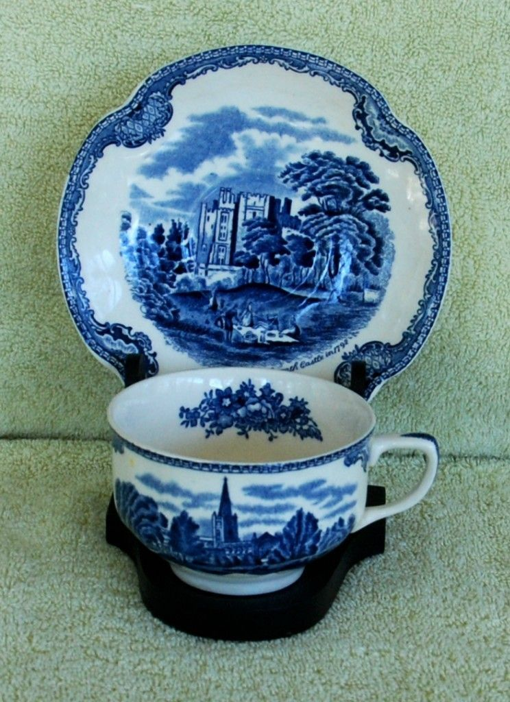 Johnson Brothers Old Britain Castles Kennilworth England Tea Cup and Saucer   eBay