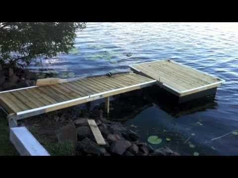 Building a Deck On the Farm Pond - YouTube Home Pinterest