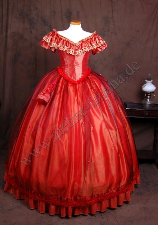 crinoline ballgown | 19th century Krinoline Ballkleider 1860 ...