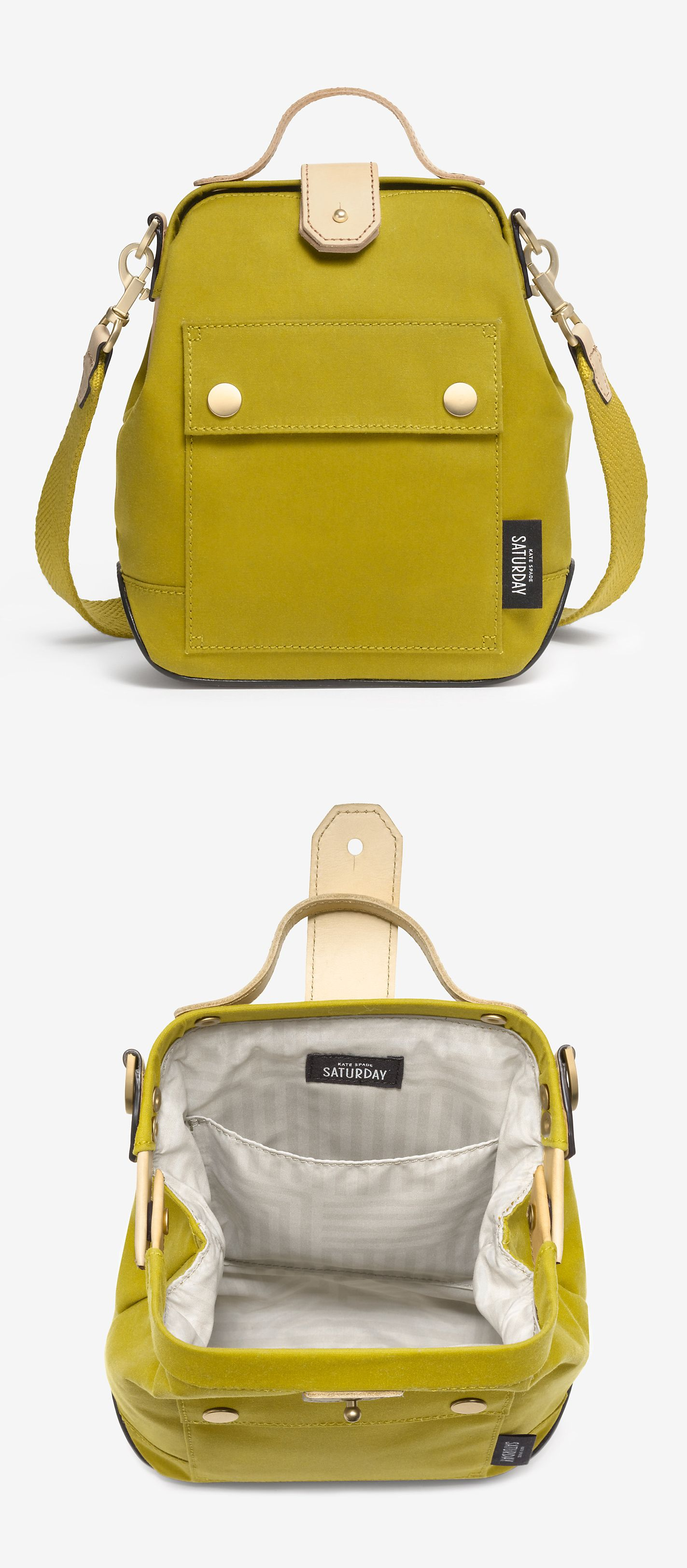 Moss crossbody bag. It's like a fancy backpack | ✿iBAG