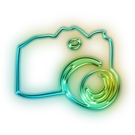 Camera Aesthetic Icon
