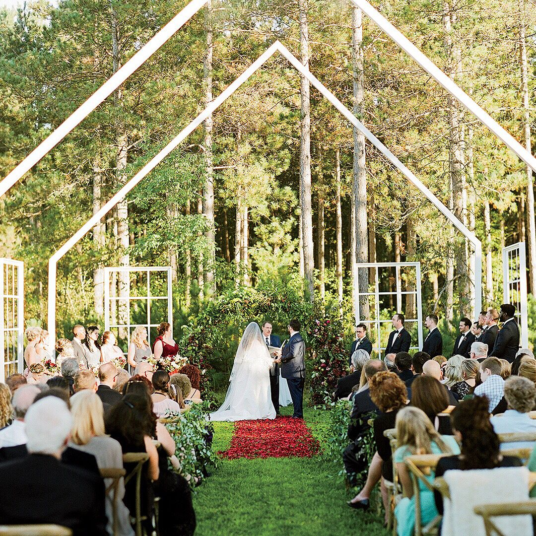"""The Knot Real Weddings On Instagram: """"Michigan Natives"""