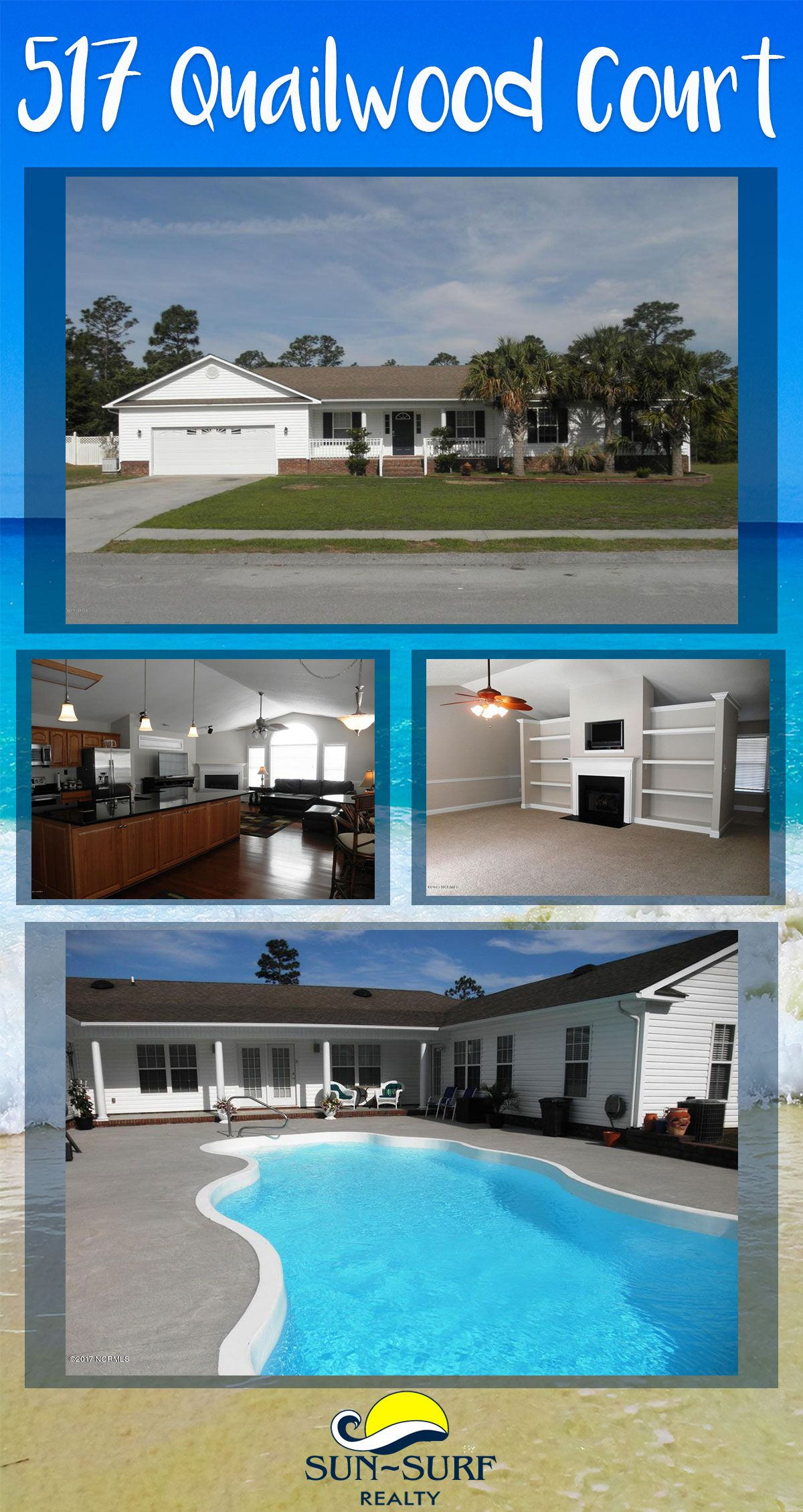 FOR SALE: This spacious and lovely home has an in-ground pool and a ...