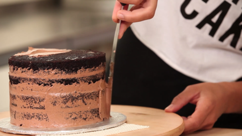 Cake Decorating Career how to make, ice and decorate yo yo's chocolate cake like a pro
