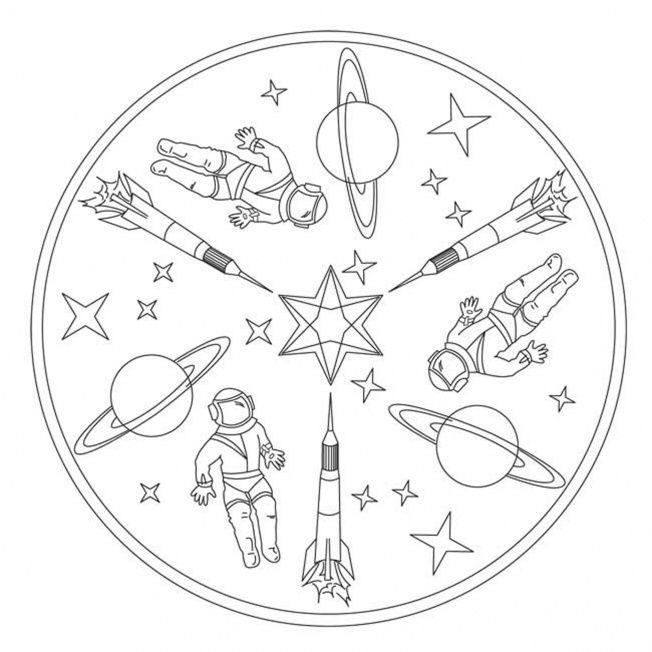 Space Mandalas Google Search Weltraum Mandala Bilder Mandalas Kinder