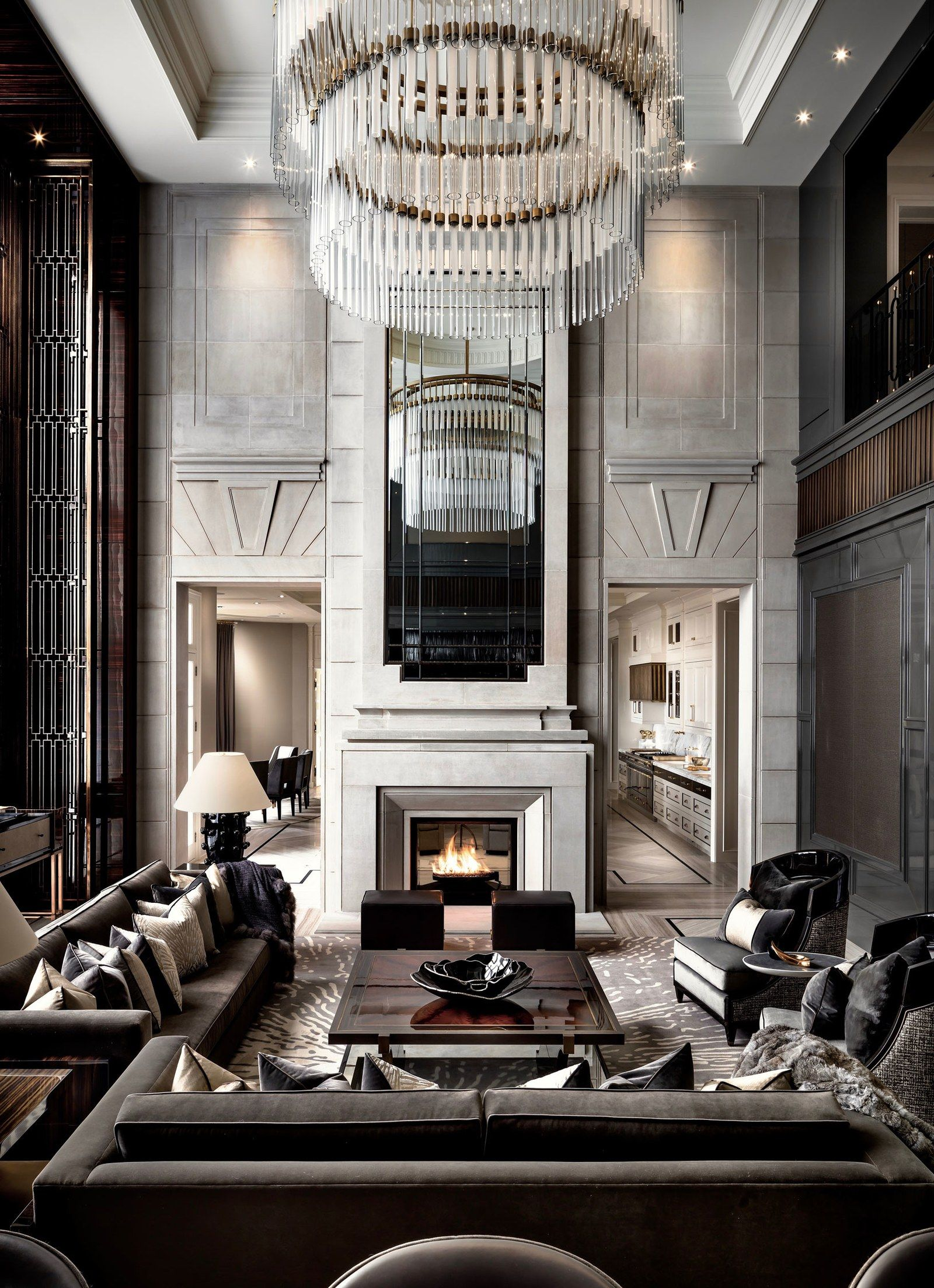 An Ultra Luxurious 50 Million Canadian Home That S Anything But Rustic Stunning Interior Design Luxury Living Room Luxury Homes Interior