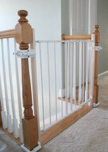 No Hole Stairway Baby Gate Mounting Kit By Safety Innovations Amazon