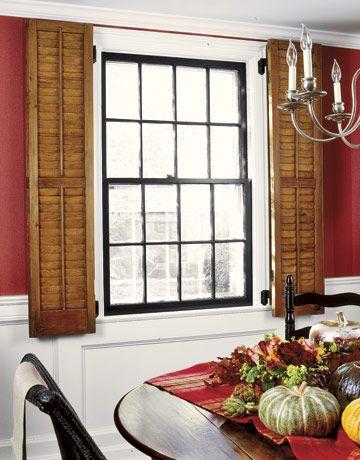 24 Creative Window Treatments