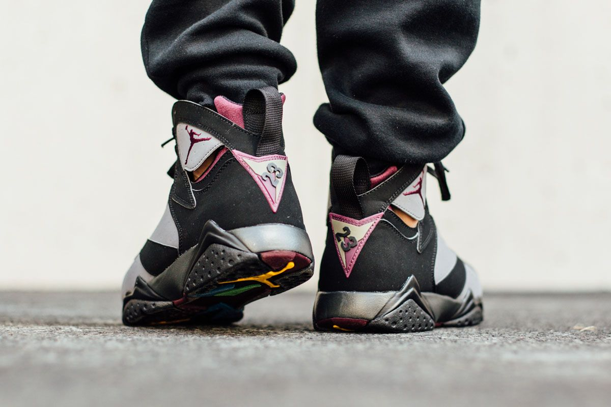 Last seen in the OG Bordeaux colorway of the Air Jordan 7 Retro is back for  2015 and releasing on Saturday, the of July.