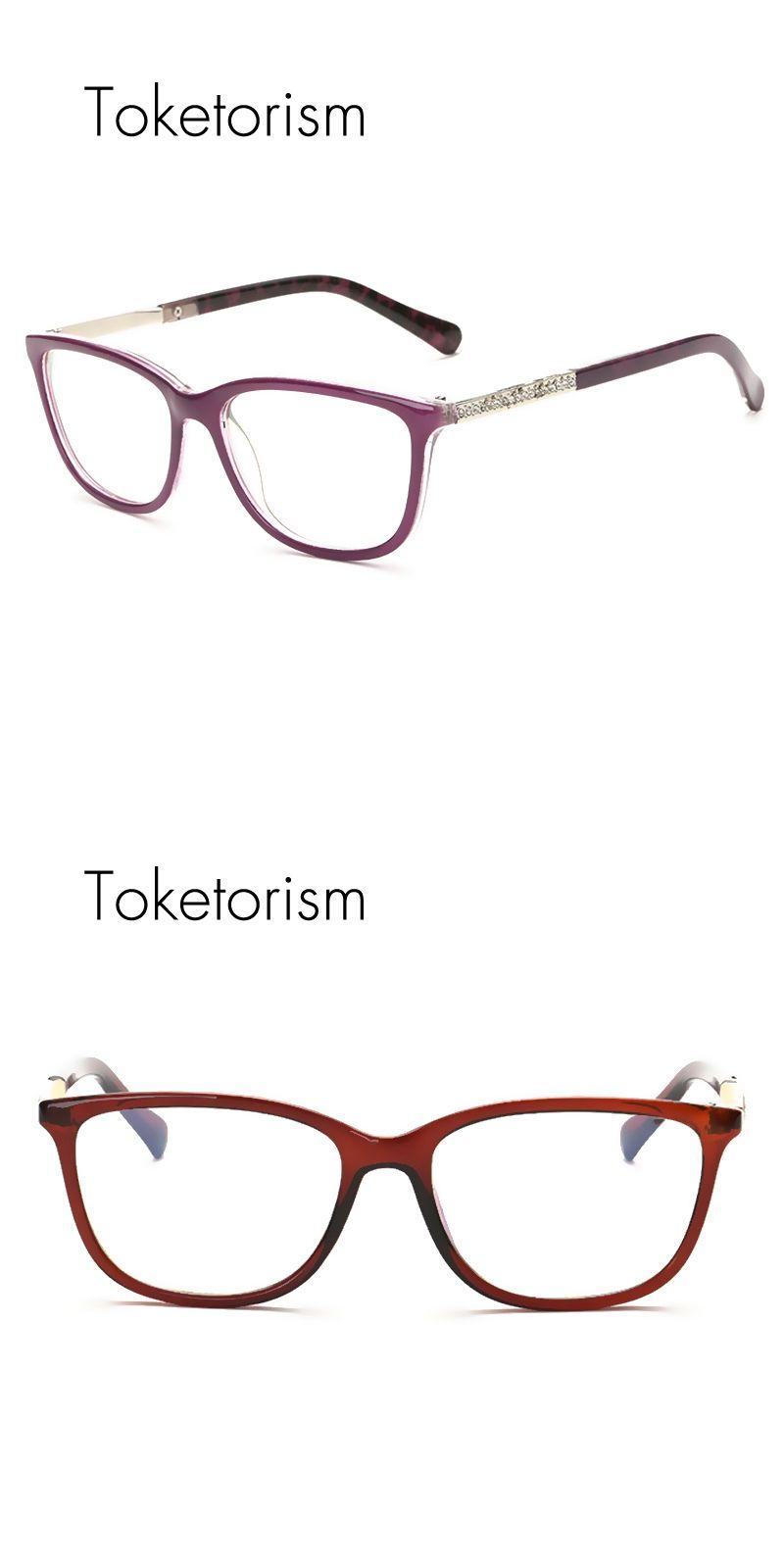 Toketorism Fashion luxury diamond glasses women brand design ...
