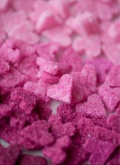 Pink sugar | Color & Texture | Pink glitter background, Pink food ...