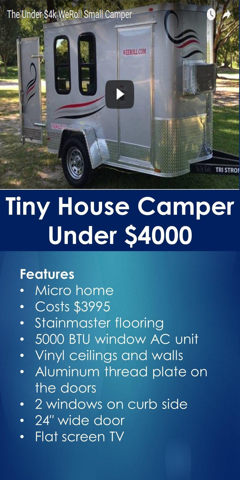 Tiny House Camper Under 4000 Tiny House Camper Cheap Tiny