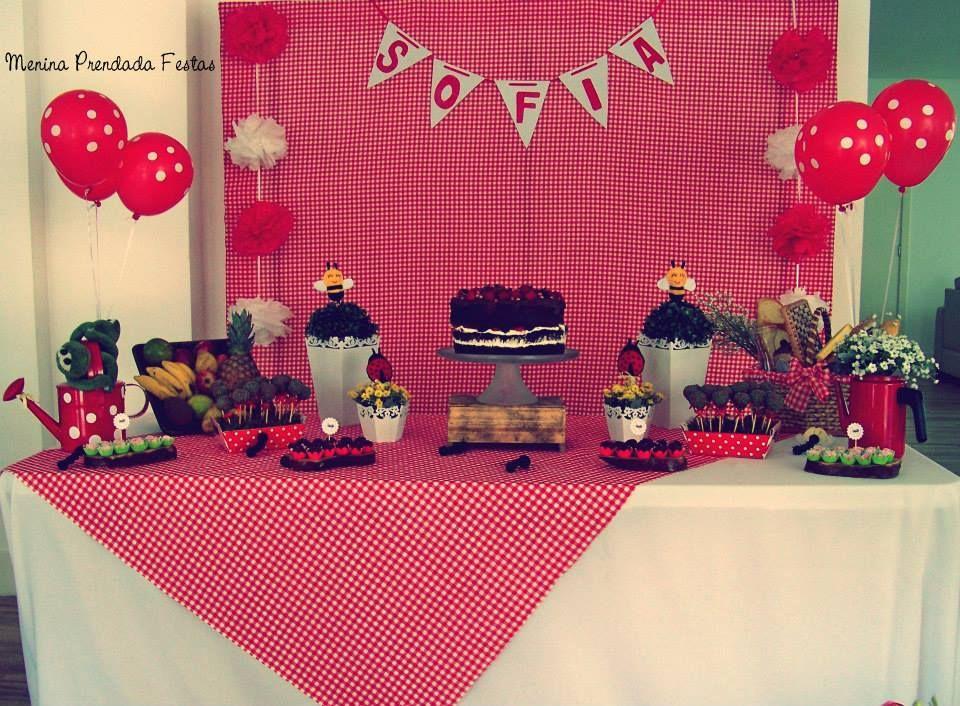 decoração aniversario picnic - Pesquisa Google