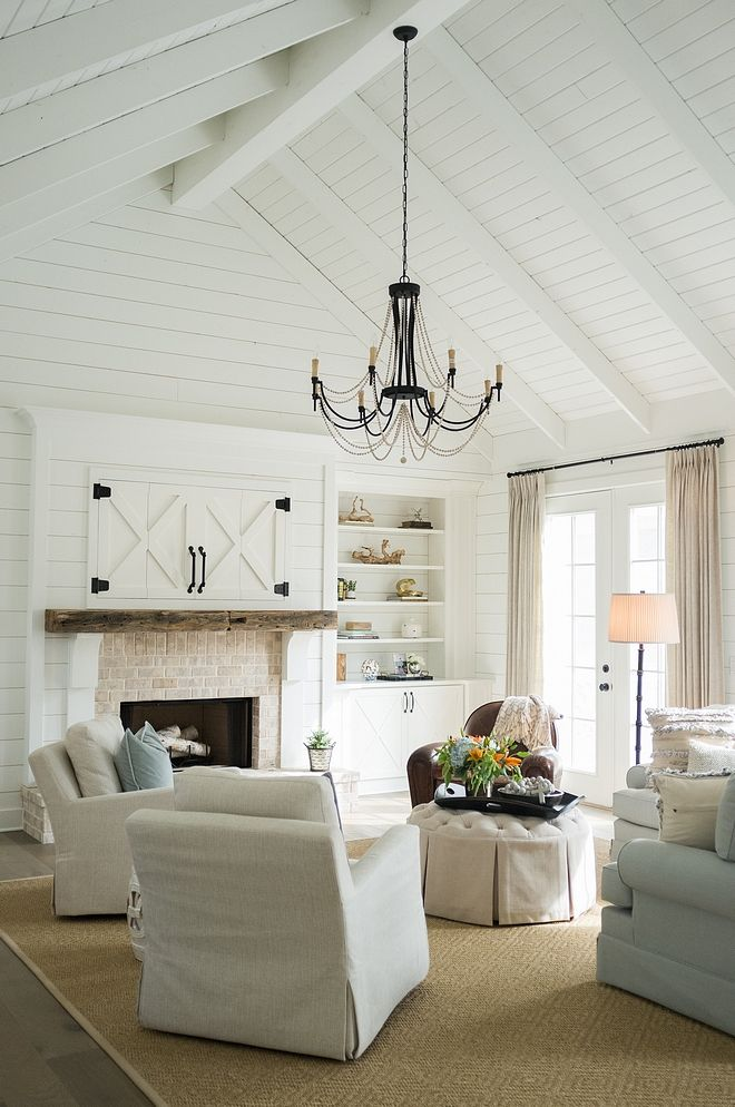 Family Room Design Layout Fireplaces