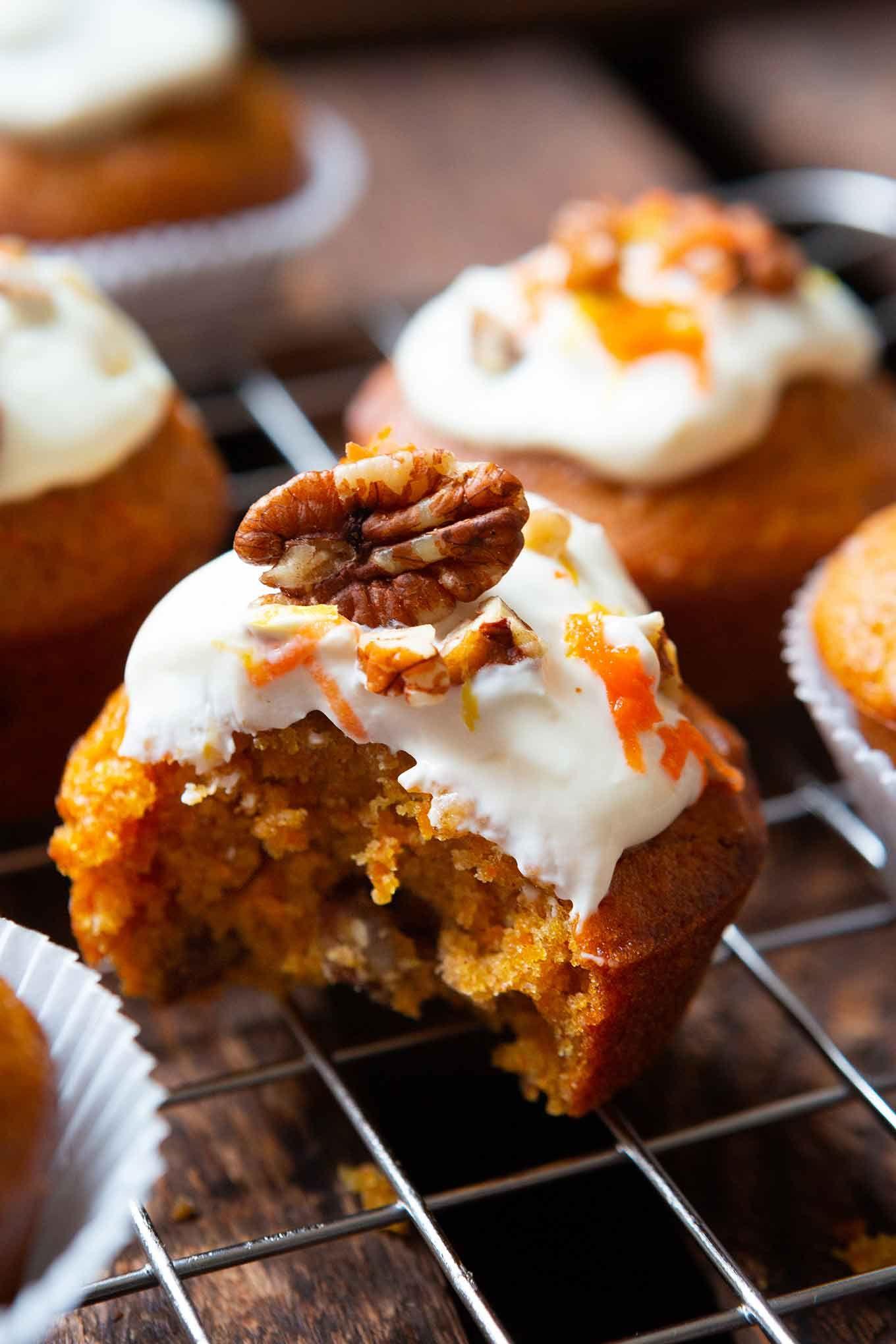 Carrot Cake Muffins (1 Schüssel & so gut!) - Kochkarussell