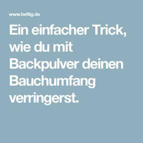 Ein einfacher Trick, wie du mit Backpulver deinen