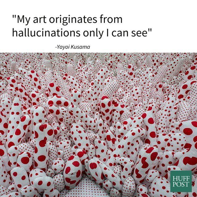 Happy Birthday Yayoi Kusama One Of The Most Famous Living Artists Today