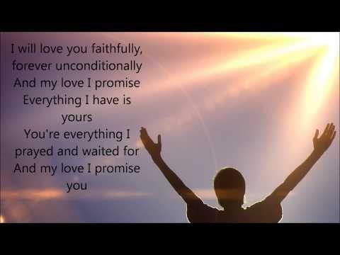 Cece Winans I Promise Wedding Song Lyrics You