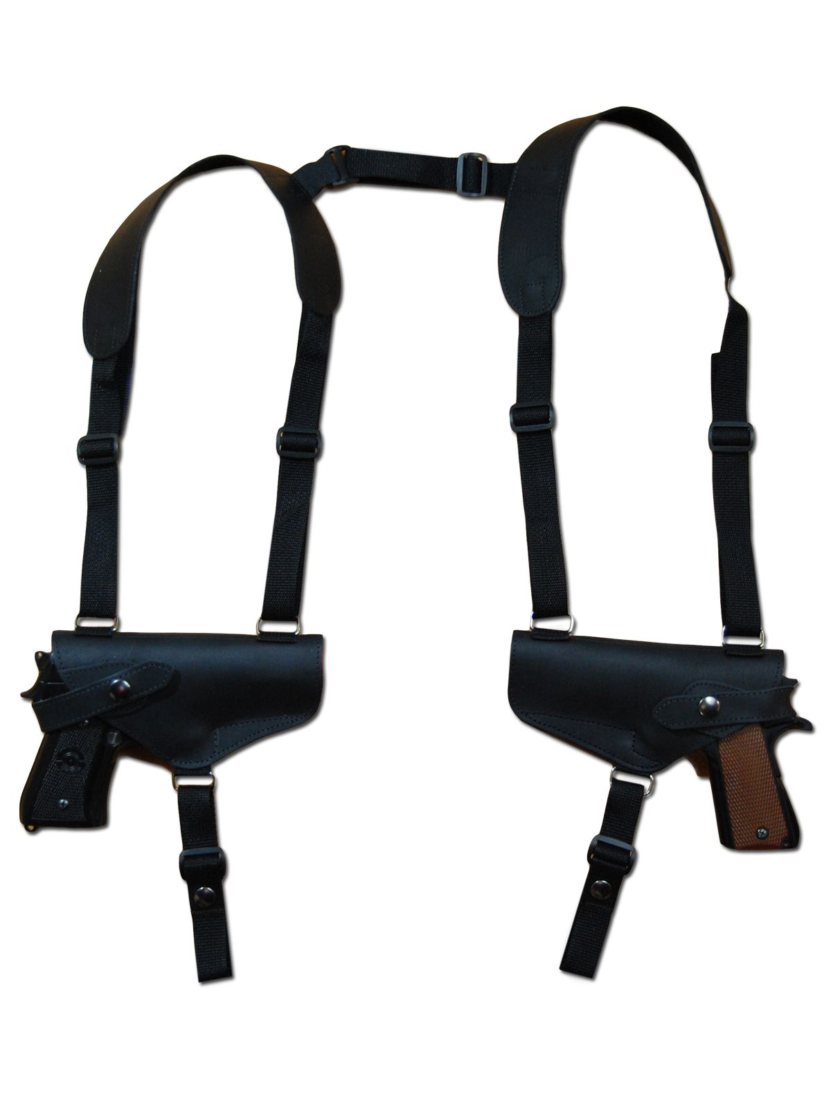 """Horizontal Shoulder holster For Smith /& Wesson 40 Cal With 4/"""" Barrel"""