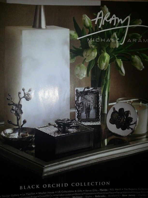 Bedside table setting