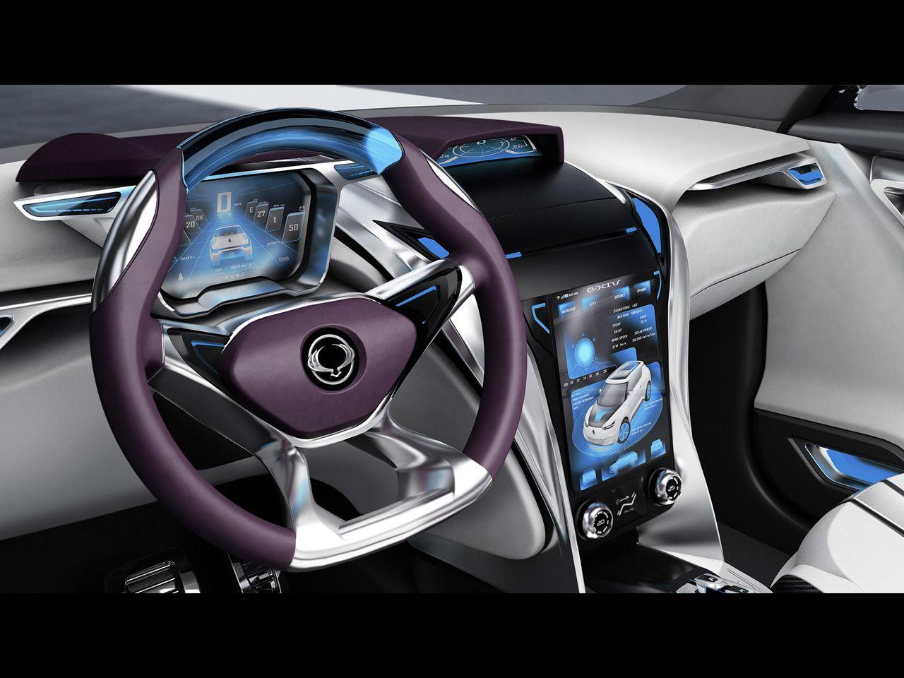 SsangYong EXIV Concept Dashboard X Wallpaper - Cool car dashboards