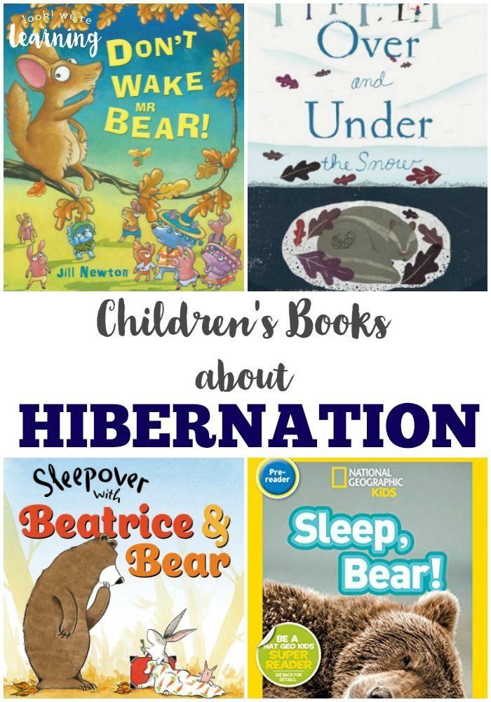 Fun Activities about Hibernation for Kids! Preschool