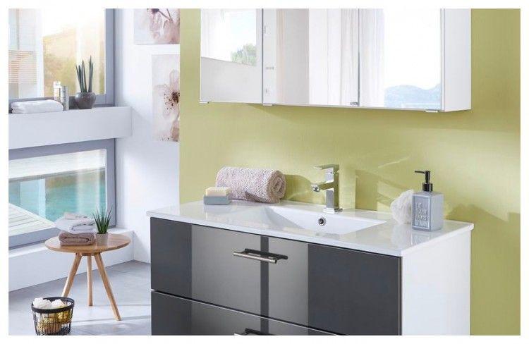 Badezimmerschrank Spiegel Beleuchtung