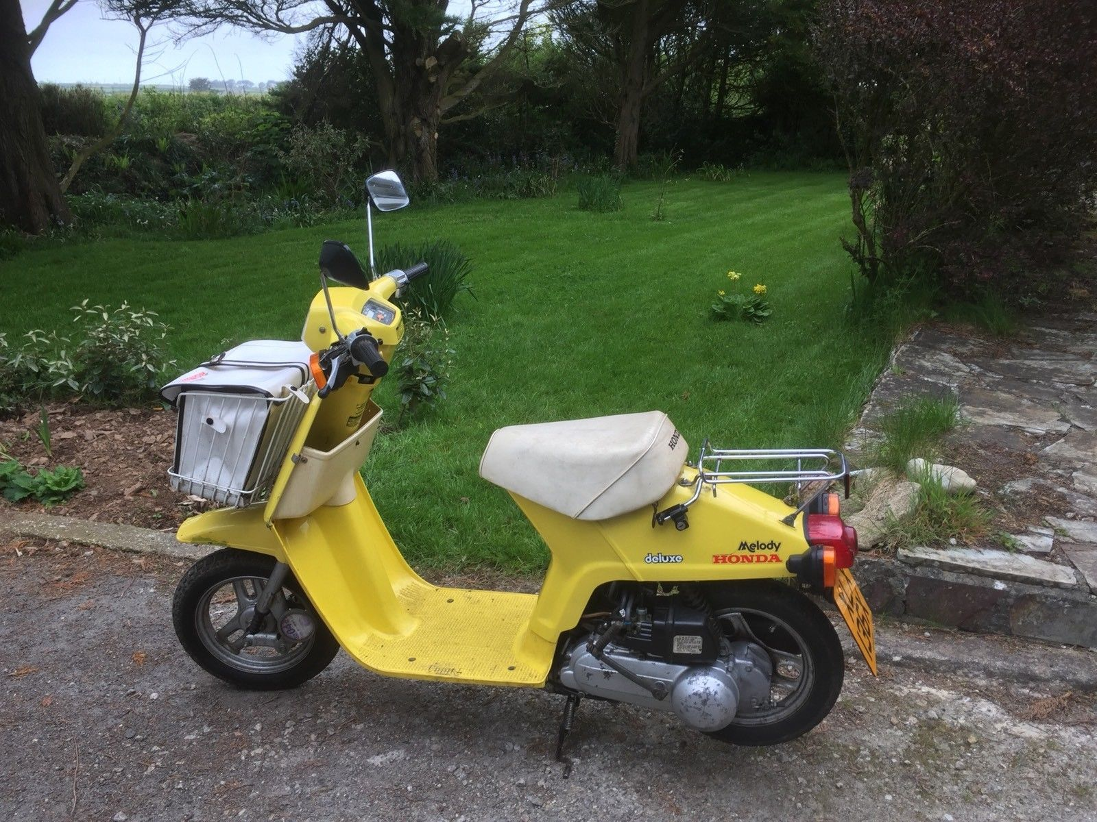 Honda Melody Scooter Moped Vintage Collectable Ebay Moped Vintage Collection Honda