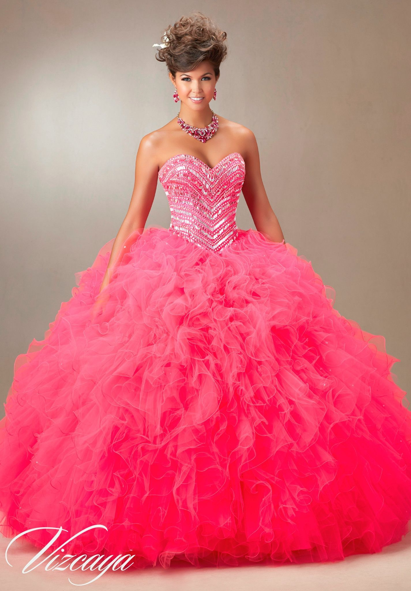 Mori Lee Vizcaya Quinceanera Dress Style 89072 is made for girls who ...
