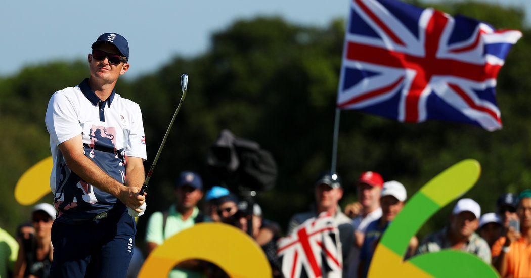 Justin Rose Outduels Henrik Stenson for Golf Gold Medal