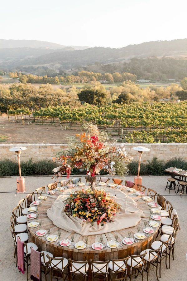 10 Unique Party & Wedding Reception Table Ideas That Totally Transformed These Events