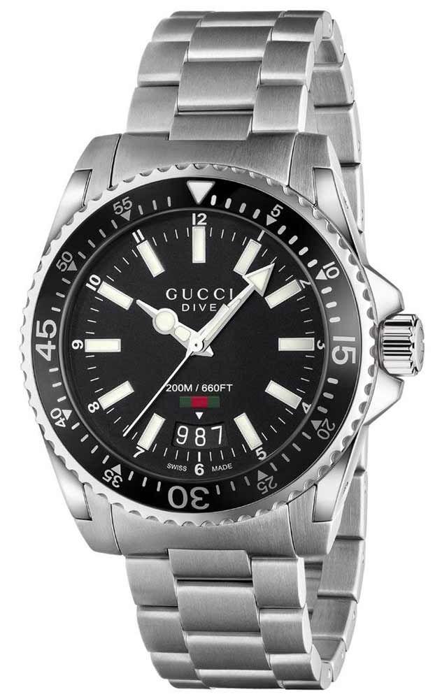 89dc29d19ce6 Reloj Gucci Hombre YA136301 Colección Dive in 2019