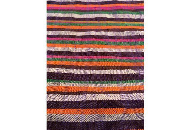 Sunset Vintage Moroccan Blanket
