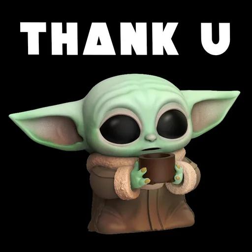 Baby Yoda Star Wars Whatsapp Stickers Stickers Cloud Yoda Sticker Star Wars Yoda Yoda