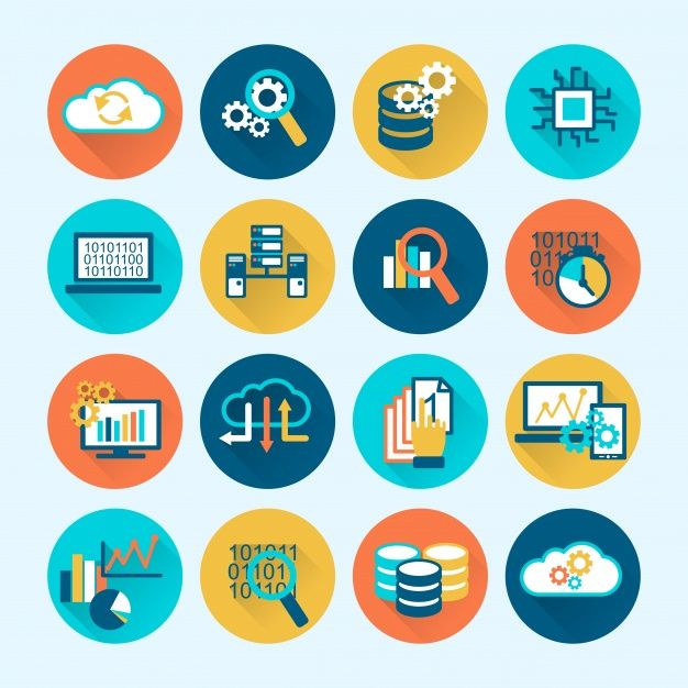 Download Coloful Business Icons For Free Business Icon Program
