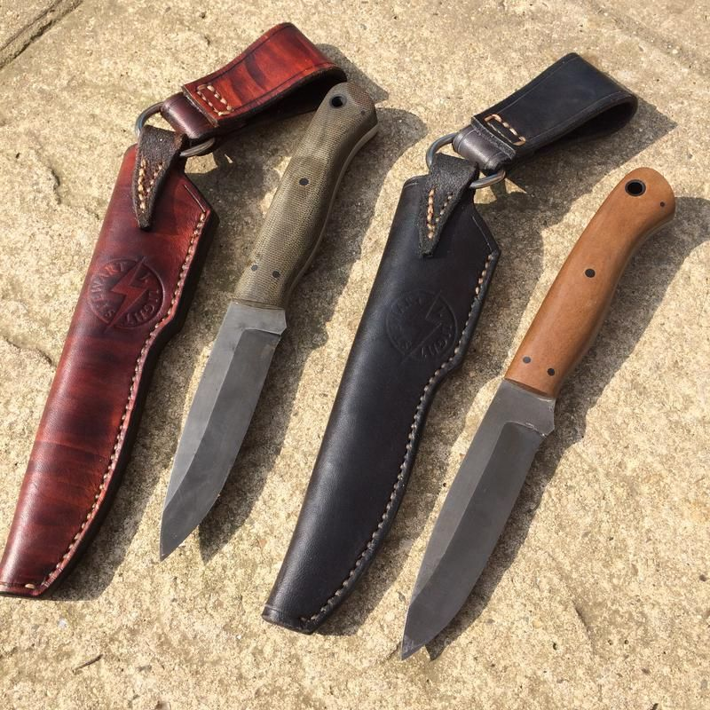For Sale A Richlite Fieldcrafter And A Micarta Fieldcrafter Knife Making Micarta Knife