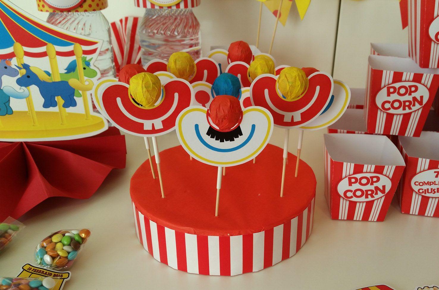 Gadget Festa Bambini Luca Circo Pinterest Birthday Candles