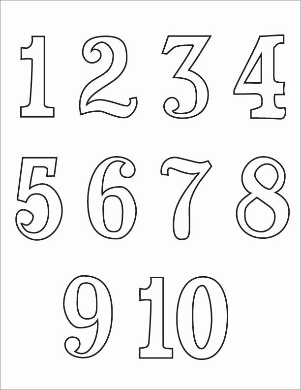 Number Coloring Pages 1 20 New Numbers 1 10 Clipart Black And White 2 Coloring Pages To Print Printable Coloring Pages Free Printable Numbers