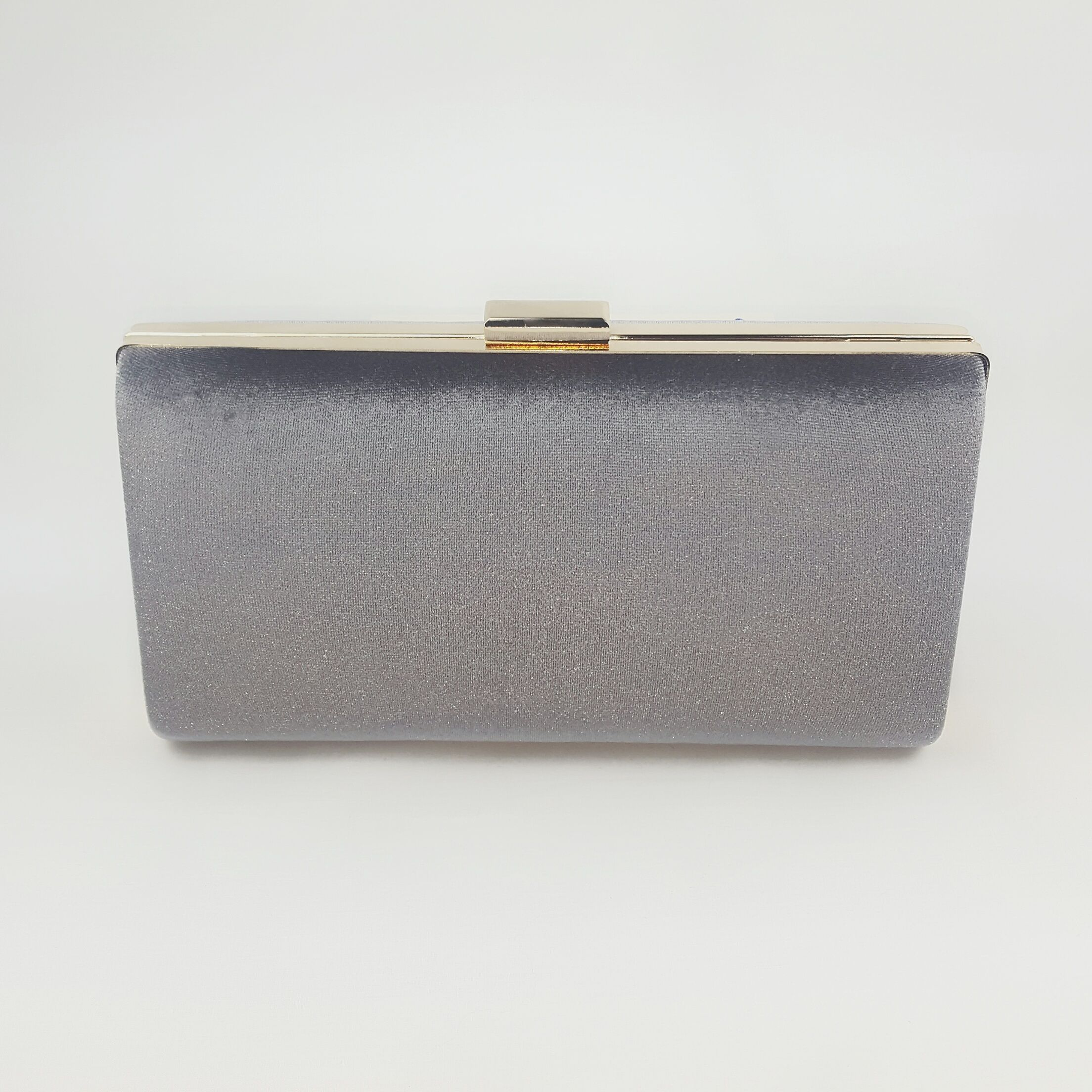 149a91361 Bolso de fiesta en terciopelo gris Cinturon Plateado, Cartera De Mano,  Bolsos Cartera,