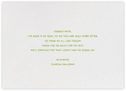 Alligator Appreciation - Paperless Post