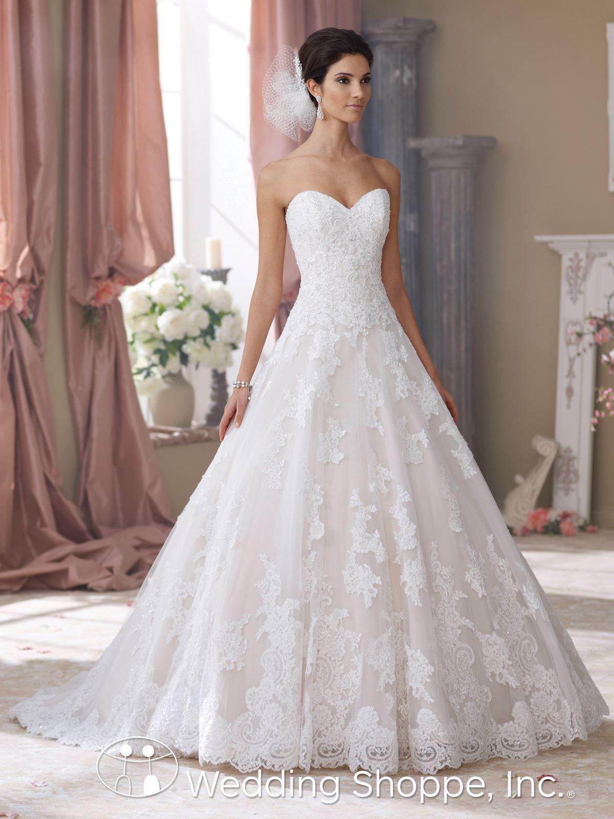 David Tutera for Mon Cheri Bridal Gown Wyomia / 214206 | Weddings ...