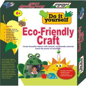Bpi eco friendly craft do it yourself kit for kids age 6 for Eco friendly colours for painting