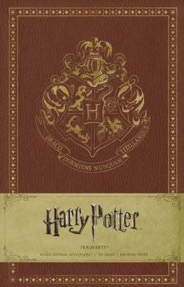 Harry Potter Hogwarts Bound Ruled Journal 5.5