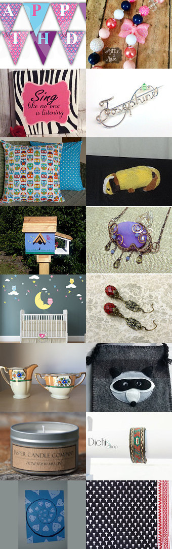 Bring the party on by Nonna on Etsy--Pinned+with+TreasuryPin.com